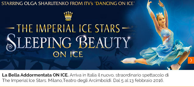 LA BELLA ADDORMENTATA ON ICE